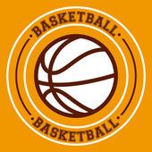 Basketball sport design — Stock Vector