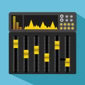 Music lifestyle design — Stock Vector