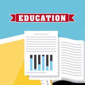 Education concept design — Stock Vector
