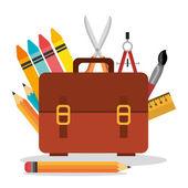 Back to school design. — Stock Vector