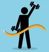 Healthy life design. — Stock Vector
