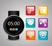 Mobile technology design. — Stock Vector