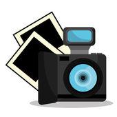 Photography design. — Stock Vector