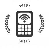 Wi-Fi bağlantısı — Stok Vektör