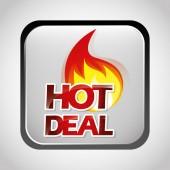 Oferta especial, diseño venta — Vector de stock