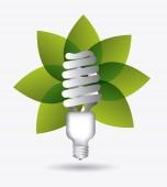 グリーン エネルギー デザイン. — ストックベクタ
