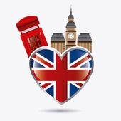 London england design. — Stock Vector