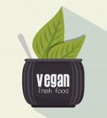 Healthy food design. — Stock Vector