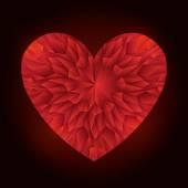 Ρομαντική αγάπη σχεδιασμό. — Διανυσματικό Αρχείο