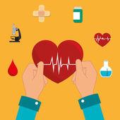 Medical design. — Stock Vector