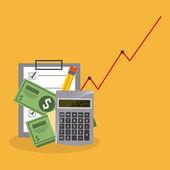 Monetary affairs — Stock Vector