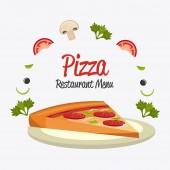 Restaurant design. — Stock Vector