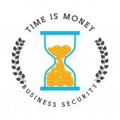 Business security design — Stock Vector