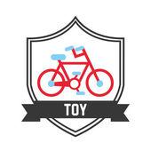 Toy icon design — Stock Vector