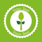 Vegetarian menu — Stock Vector