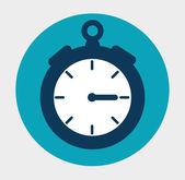 Time clock design. — Stock Vector