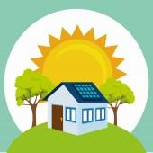 Conception de l'énergie verte. — Vecteur