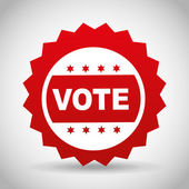 Election season design — Stock Vector