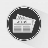 Employment exchange design — Stock Vector