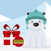 Happy merry christmas — Stock Vector