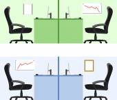 Office — Stock Vector