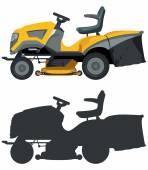 Lawn mower — Stock Vector