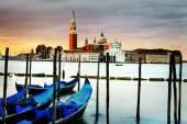 Gondolas in Venezia — Stock Photo