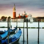 Постер, плакат: Gondolas in Venezia
