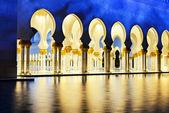 Moschea bianca — Foto Stock
