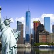 New york city symbols — Stok fotoğraf #84170544