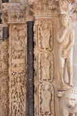 Detail of the Cathedral of St. Lawrence in Trogir, Croatia — Stock Photo