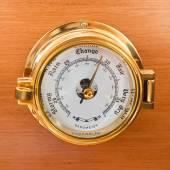 Yacht Barometer Close Up — Stock Photo