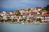 Zaton, Croatia view from the sea — Stock Photo