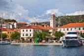 Skradin è una piccola città storica in Croazia — Foto Stock