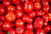 Tomatoes selling in a market — Stock Photo