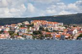 Rogoznica, Croatia view from the sea — Stock Photo