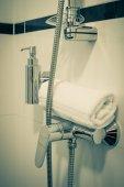 Hotel de baño — Foto de Stock