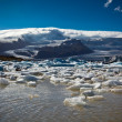 Jokulsarlon Glacier Lagoon in Vatnajokull National Park, Iceland — Stock Photo #56032697