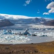 Jokulsarlon Glacier Lagoon in Vatnajokull National Park, Iceland — Stock Photo #57054669
