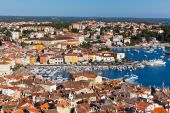 Aerial View from Rovinj Belfry, Croatia — Стоковое фото