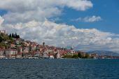Sibenik, Croatia view from the sea — Stockfoto