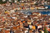 Aerial View from Rovinj Belfry, Croatia — Stock Photo