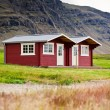 Typical Holiday House at North Iceland — Stock Photo #57812807