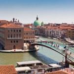 Venice cityscape and The Constitution Bridge — Stock Photo #57812893