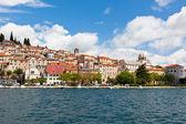 Sibenik, vista de croacia desde el mar — Foto de Stock