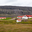 Typical Farm House at Icelandic Fjord Coast — Stock Photo #58281769