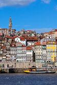 ポルト、ポルトガルの古い町の概要 — ストック写真