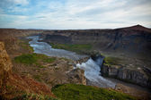 Dettifoss Waterfall in Iceland from above — Stock Photo