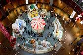 Dubai mall on Christmas Day — Foto de Stock