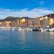 Nice and Luxury Yachts, French Riviera, France — Stock Photo #65851071
